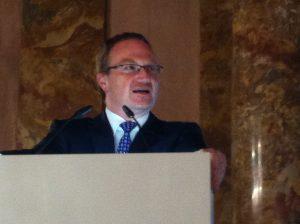 Der Festredner, Prof. Veld
